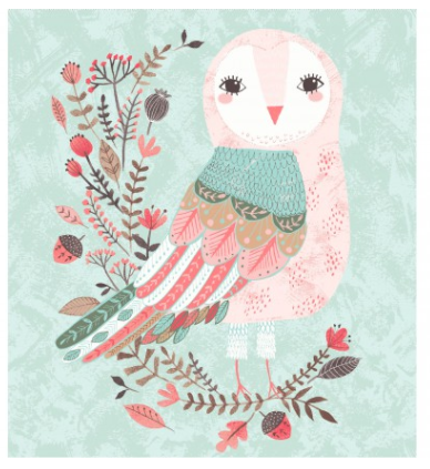 EE Forest Owl Panel