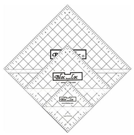 BL Set 2 Half Square Tri
