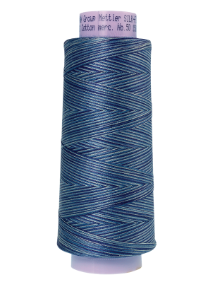 Silk Finish Cotton Varigated 50wt 1500yd Thread