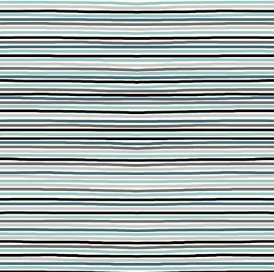 Stripes GryBlBlk Jersey Knit