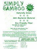 Simply Bamboo Washing Instructions