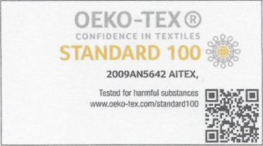 TRUE COTTON OekoTex cert
