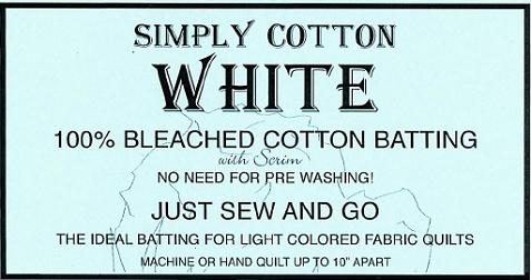 Simply Cotton White