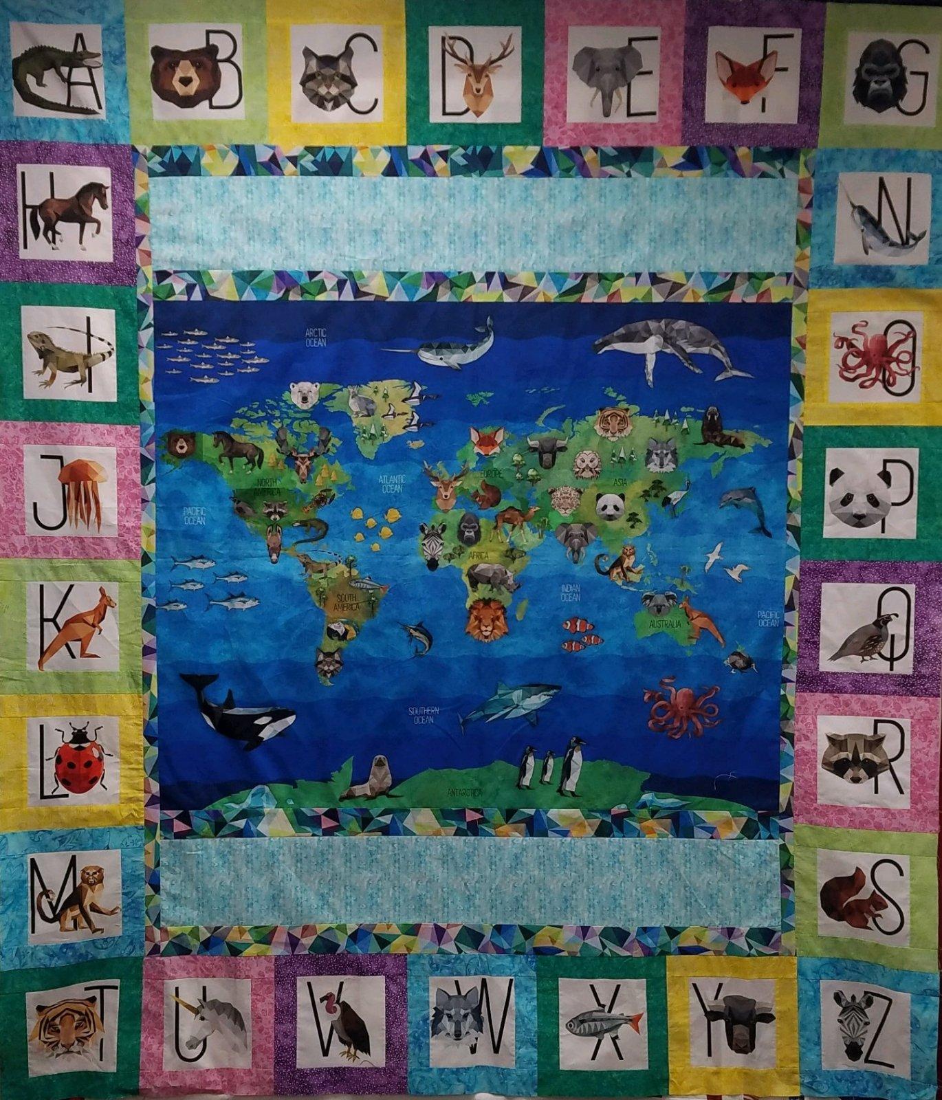 World Zookeeper Quilt Kit