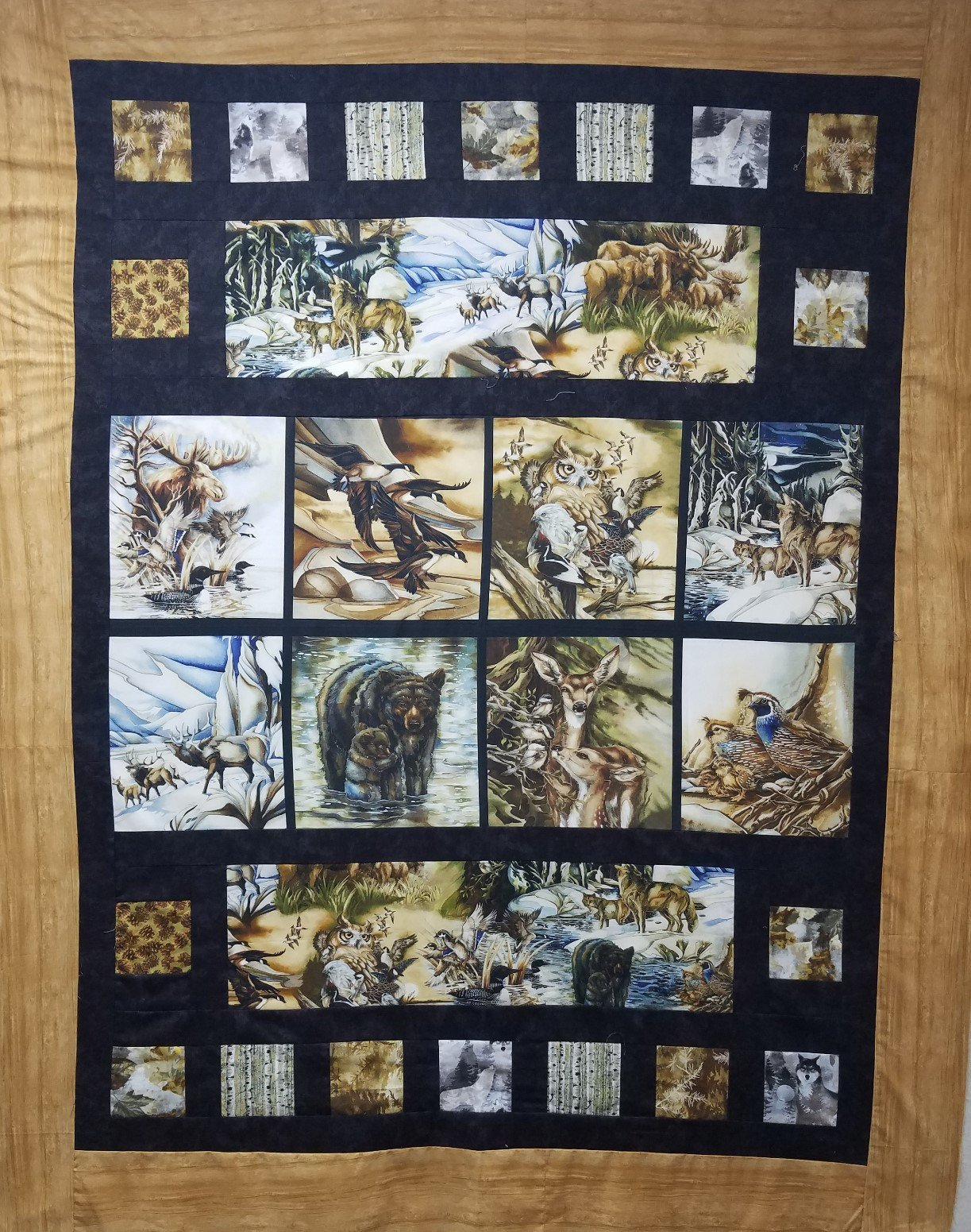 North American Wildlife Quilt Kit