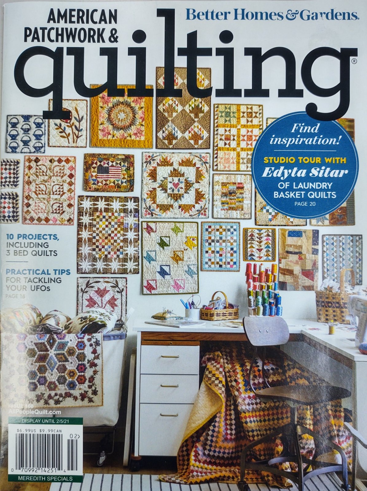 American Patchwork & Quilting Issue 168