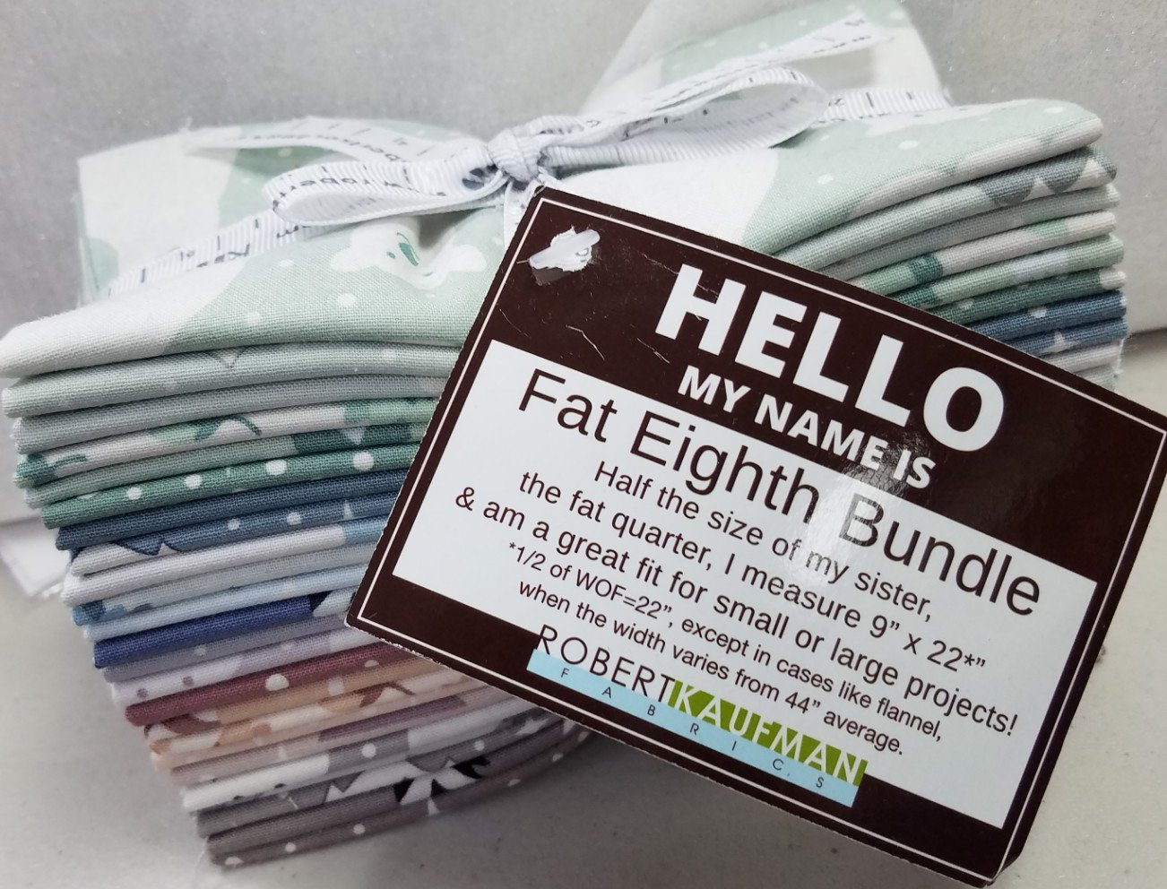Fat Eighths Precut Collection: Arctic