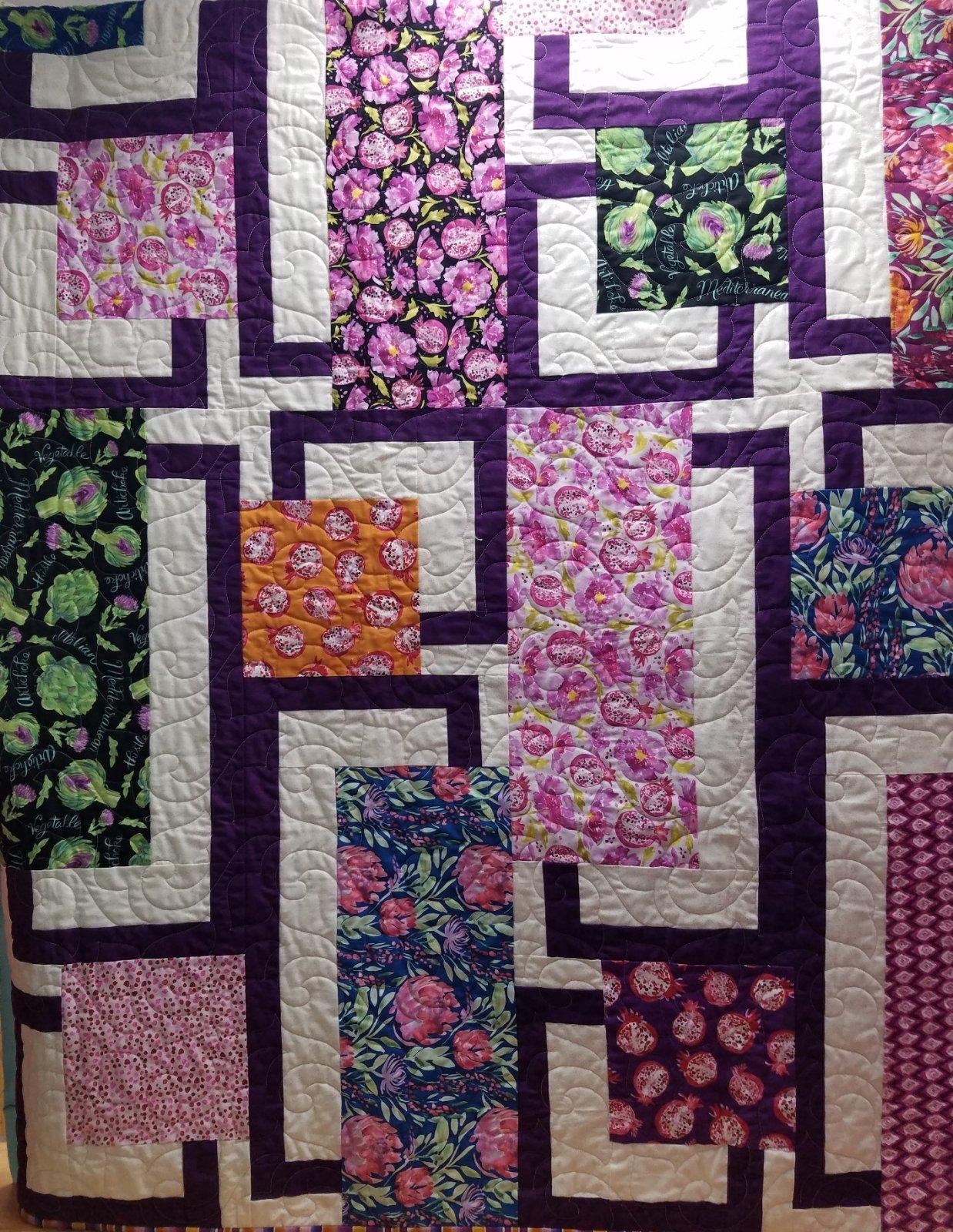 Artichoke Garden Quilt Kit