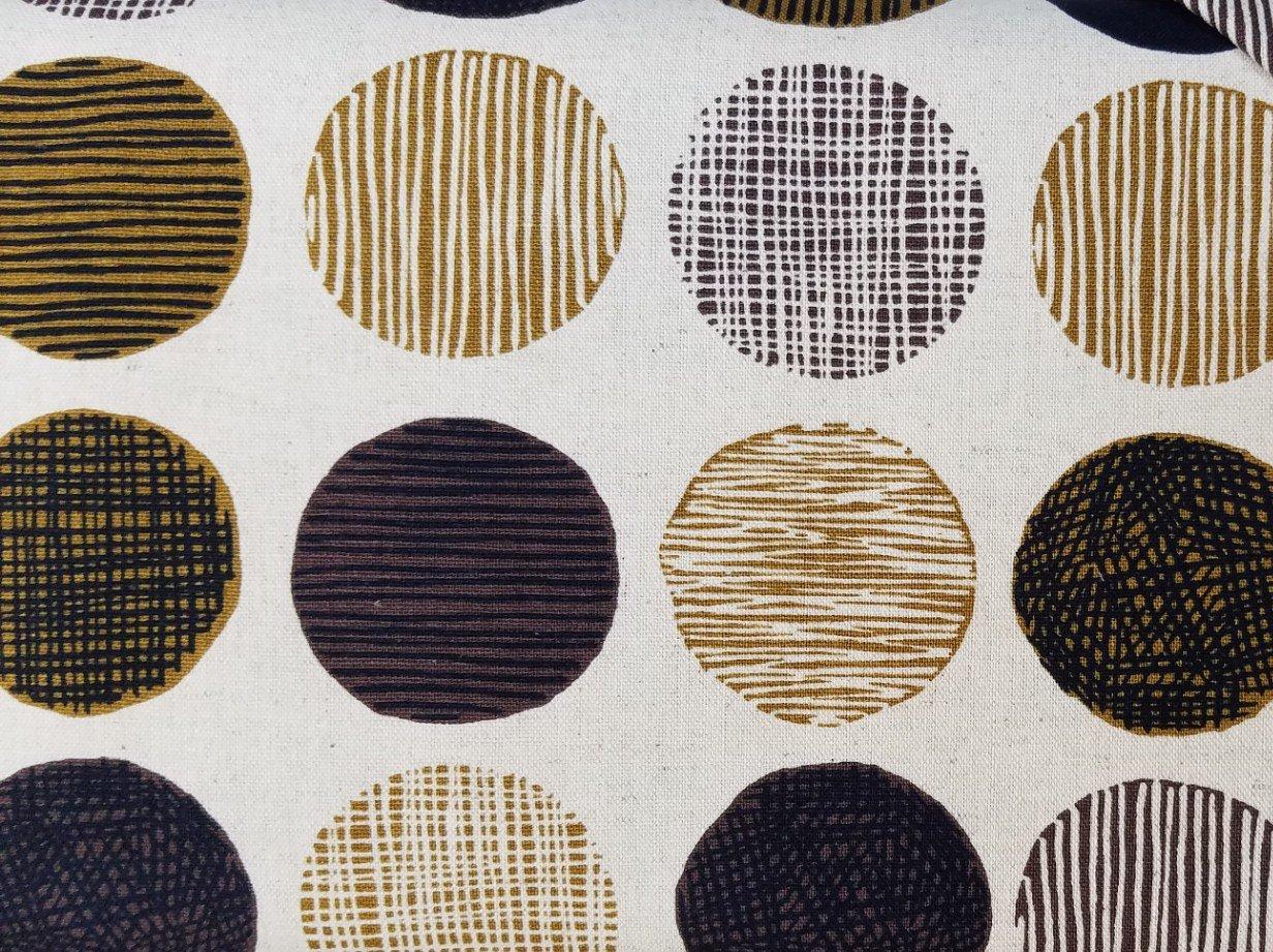 Hishiei Textiles Green Circles