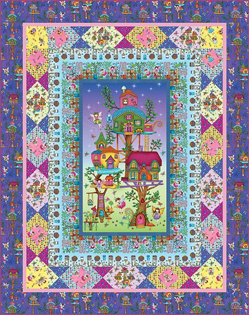 Fairy Land Quilt Kit