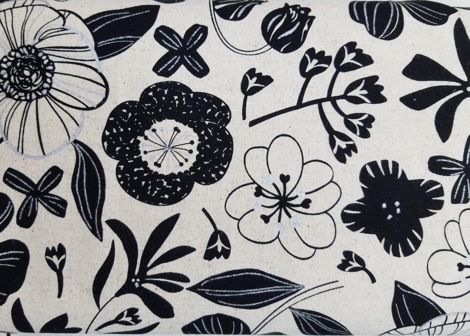 Lecre Collection 2017 Black Flowers