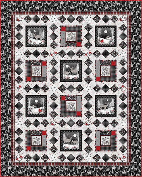 Midwinter Song Quilt Kit