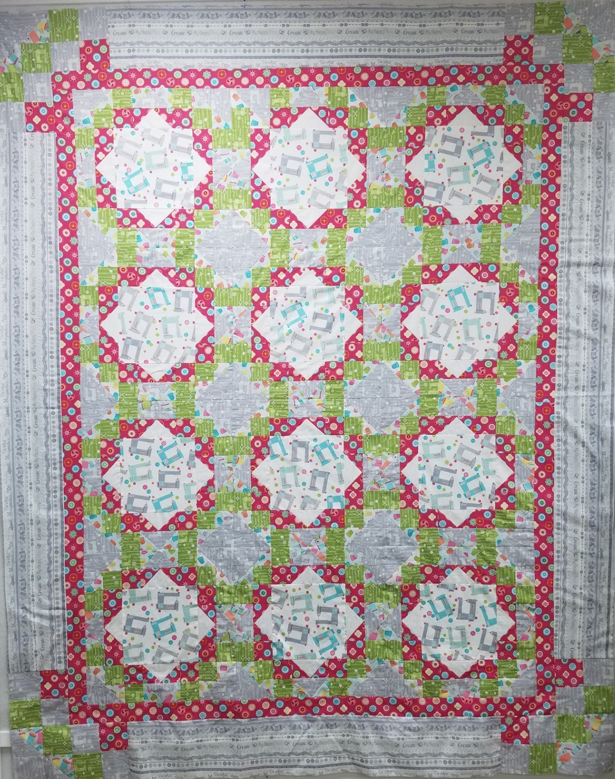 My Happy Place Quilt Kit