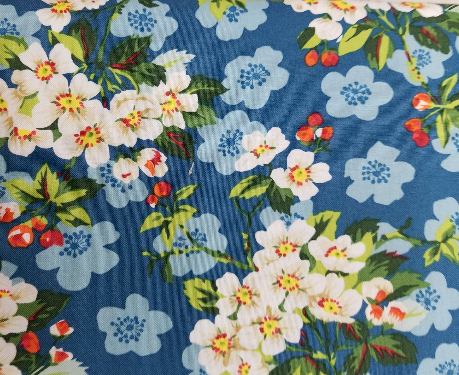 Neddy's Meadow - Spring Blossom - Mint