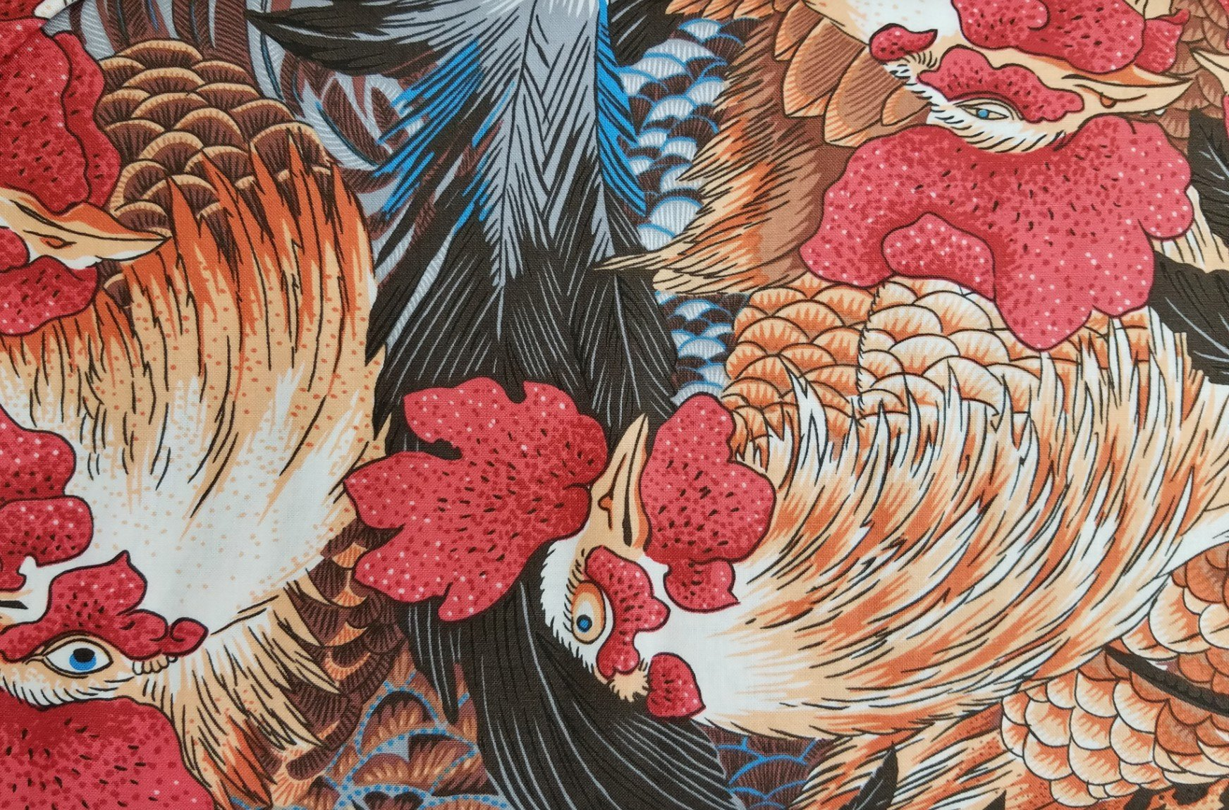 Neddy's Meadow - Roosters - Natural