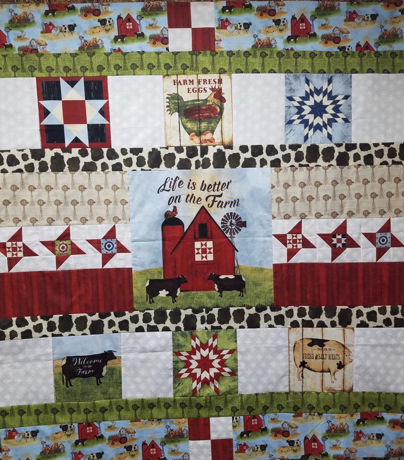 On The Farm Quilt Kit