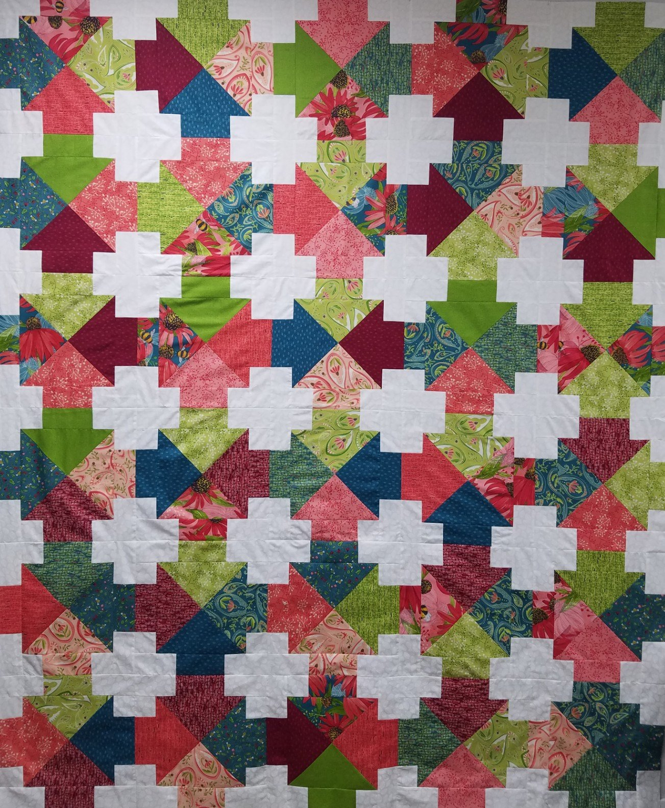 Painted Meadow Quilt Kit