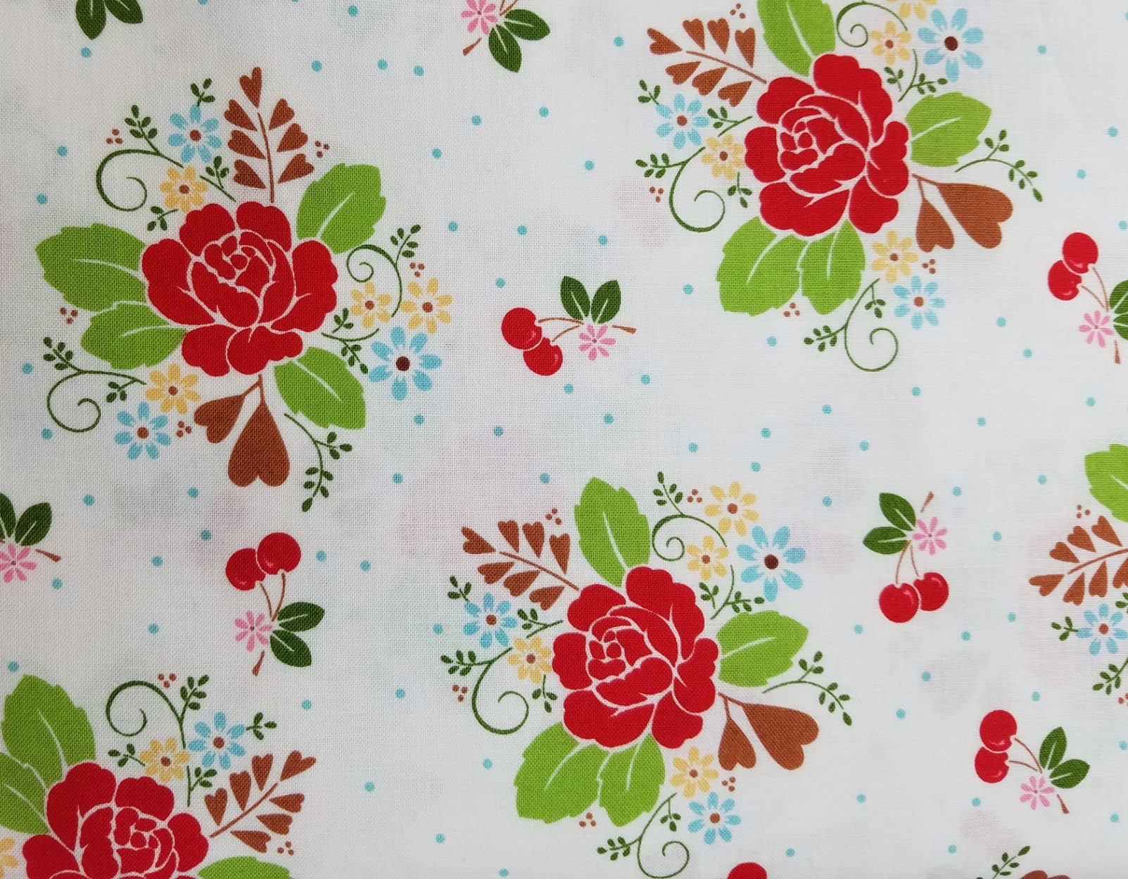 Sew Cherry 2 Floral