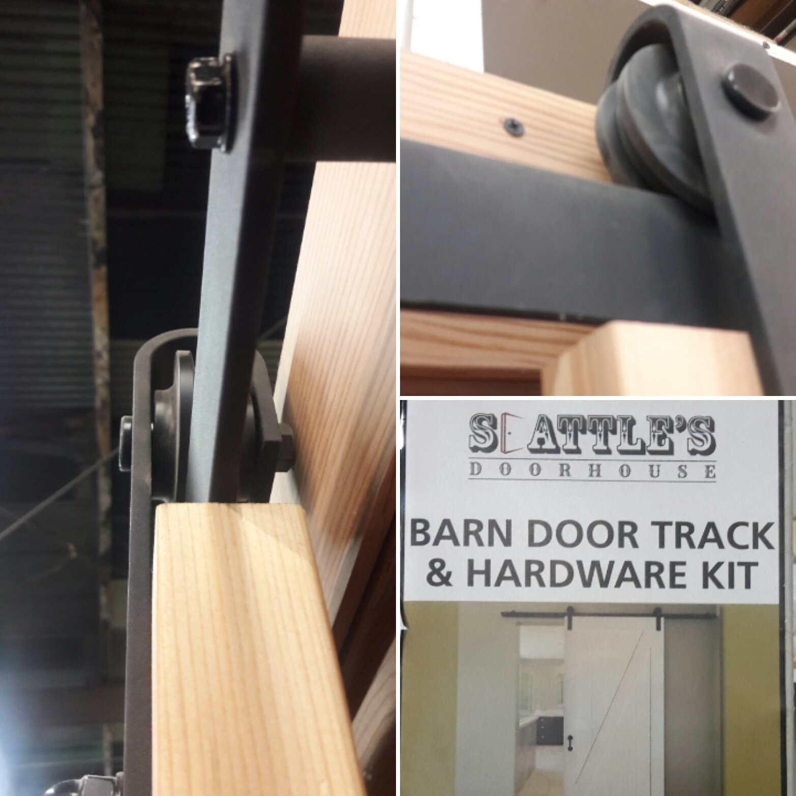 Barn Door Track and Hardware