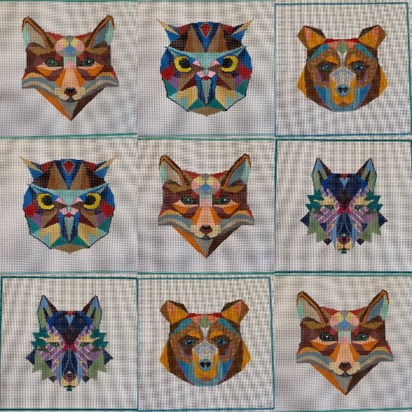 Animal Heads from Hello Tess