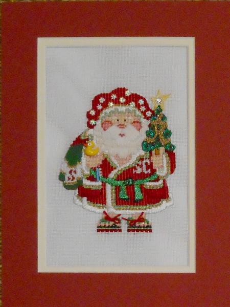 OWD 2015 Strictly Christmas April Santa - stitched