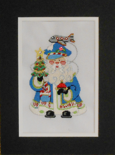 OWD 2015 Strictly Christmas August Santa - stitched