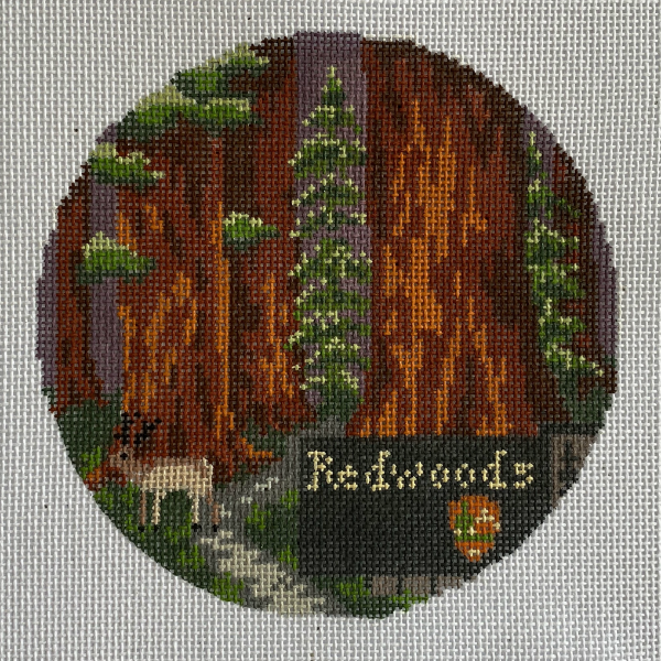 National Park Round - Redwoods