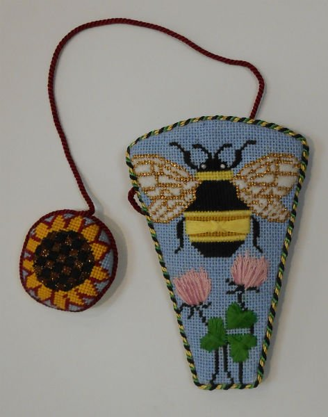 Bee Hive Scissors Case and Scissors Fob