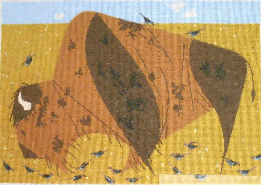 Buffalo by Charley Harper