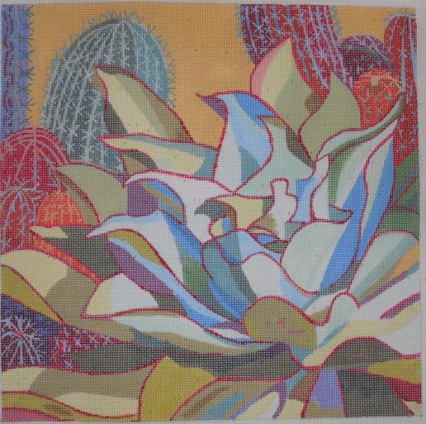 Cactus Garden 1 by Purple Palm