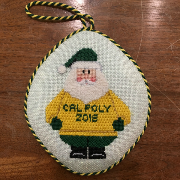 Cal Poly Santa from Carol Dupree - finished