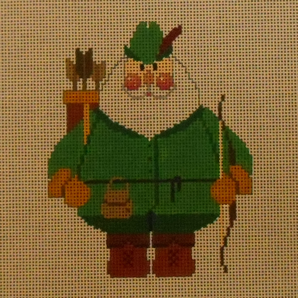 Archer Santa (or is that Robin Hood) from Carol Dupree