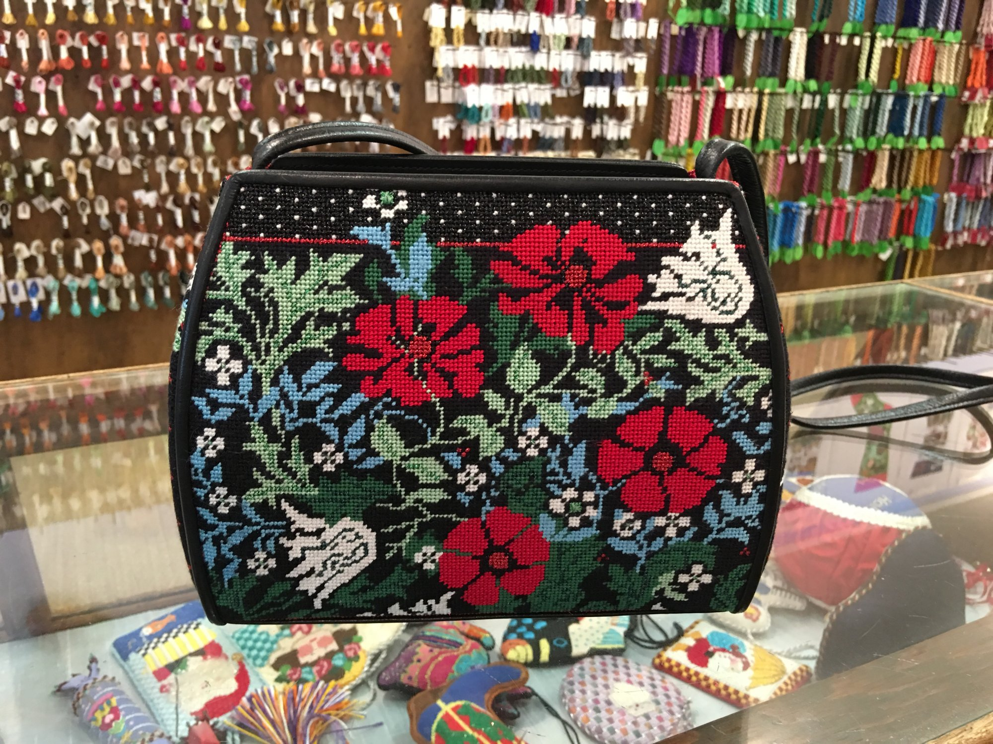 Elegant Whimsy & Grace Purse - inspired by William Morris Compton