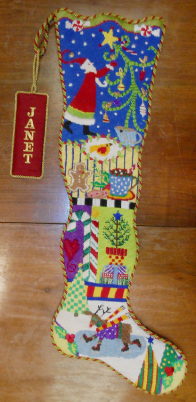 Christmas Sock - finished