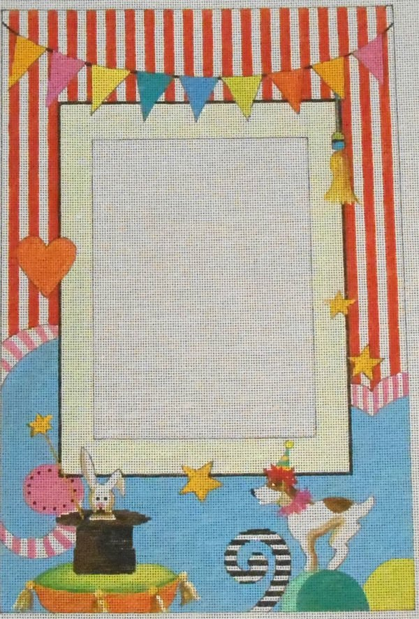 Circus theme frame by Colors of Praise
