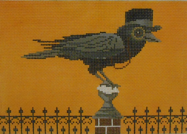 Crow with Top Hat by Scott Church