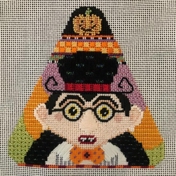 Candy Corn - Drakula from Needle Deeva - stitched