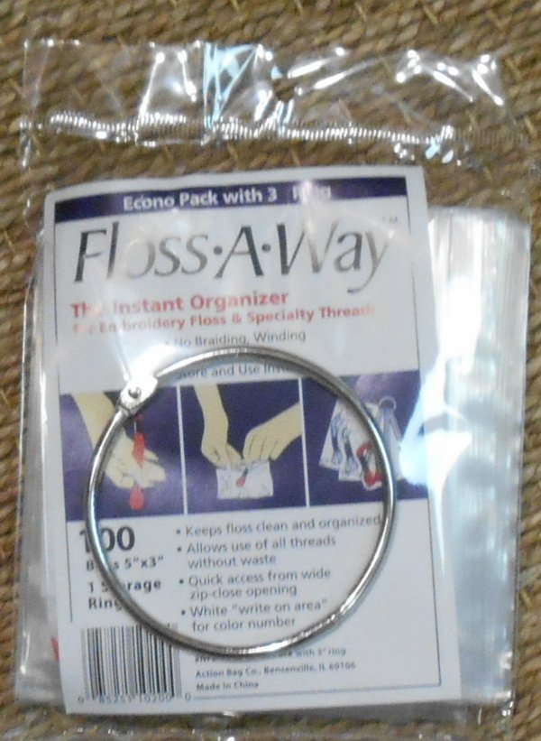 Floss Away Thread Organizing System