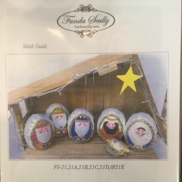 Nativity by Funda Scully - Stitch Guide