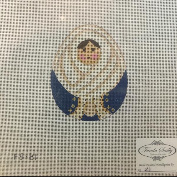 Nativity by Funda Scully - Mary