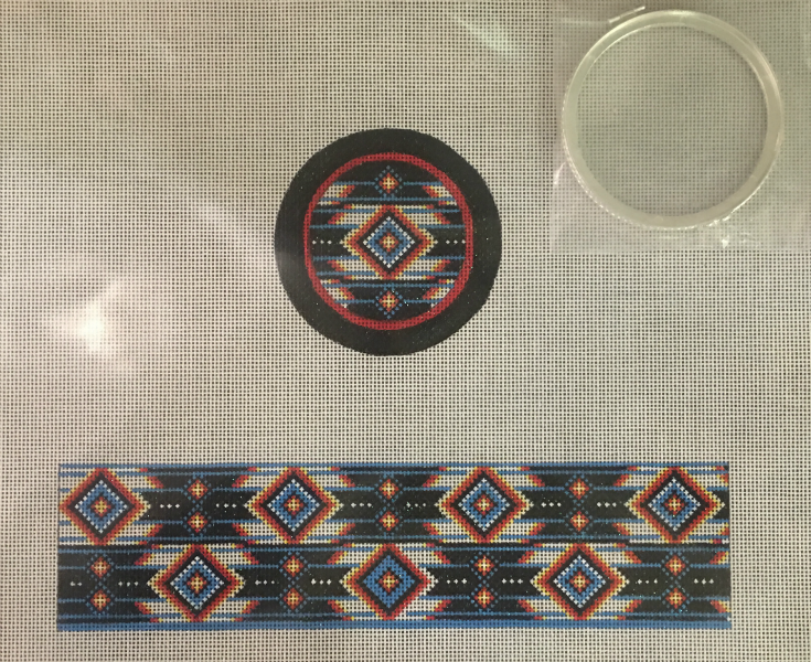 Native American Pattern Box from Funda Scully