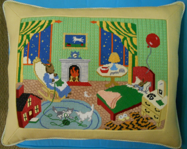 Goodnight Moon Pillow from Silver Needle