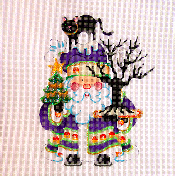 OWD Halloween Santa + Stitch Guide (October) -