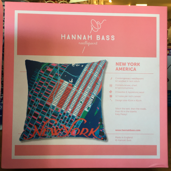 New York City Pillow Kit from Hannah Bass