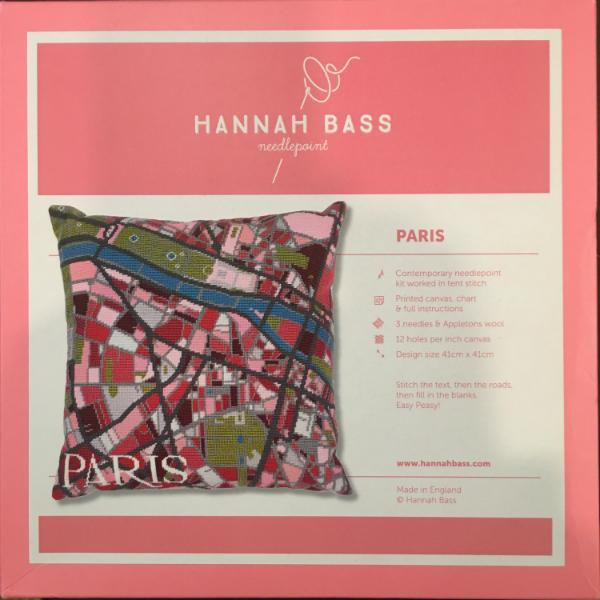 Paris Map by Hannah Bass