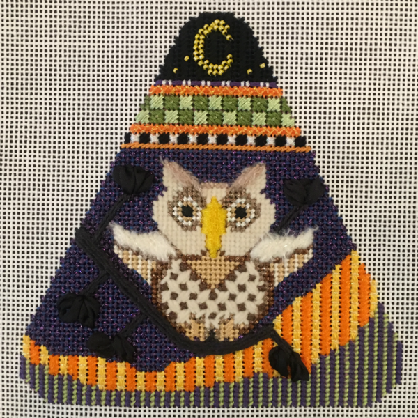 Candy Corn - Hooty the Owl from Needle Deeva - stitched