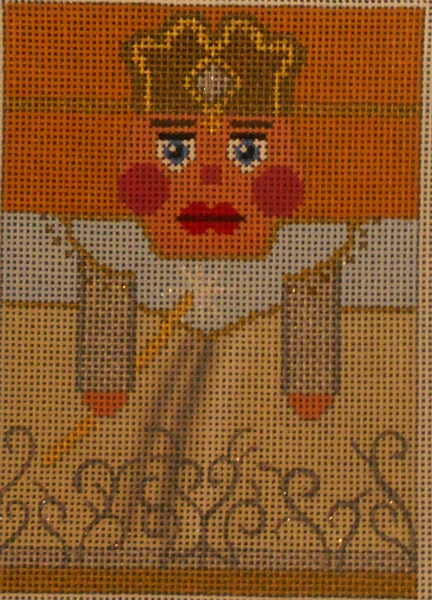 Glinda the Good Witch Nutcracker Roll-up from Julia's Needleworks