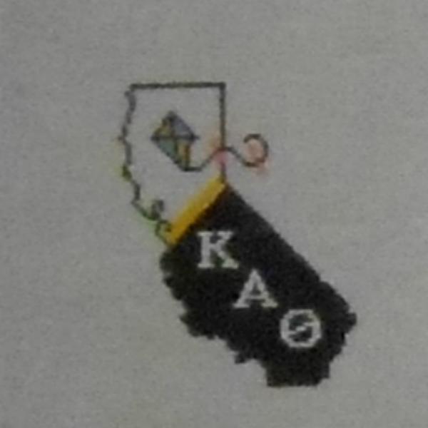 KAO Sorority with Kite in California shape from Kangaroo Paw