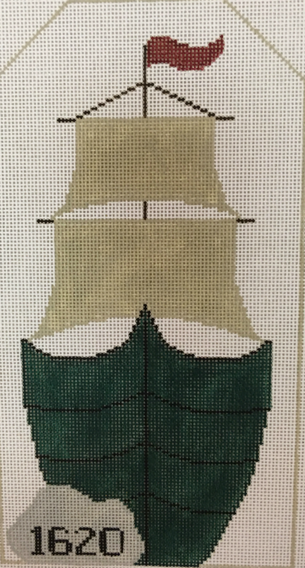 Thanksgiving Mayflower Ship from Kathy Schenkel with stitch guide