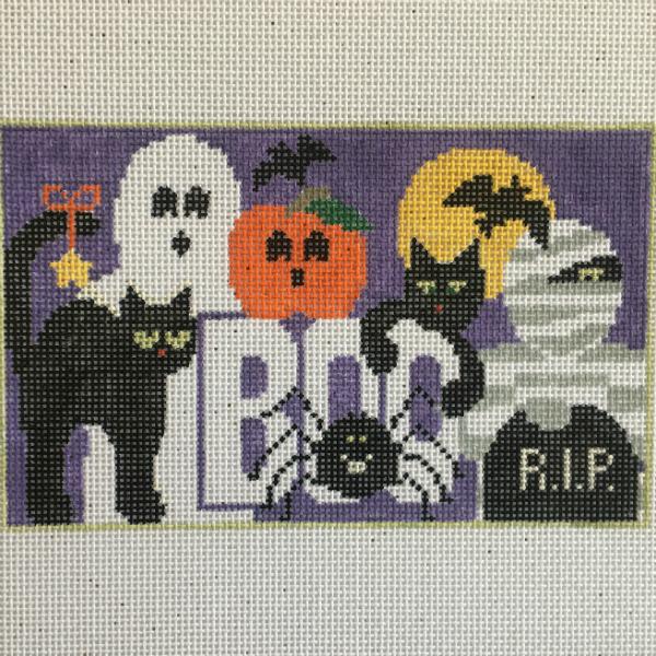 Halloween mini pillow from Kathy Schenkel
